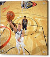 Dallas Mavericks V New Orleans Pelicans Acrylic Print