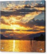 Dalton Point Sunrise Acrylic Print