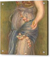 Dancing Girl With Castanets, 1909 Acrylic Print