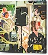 Dancing Acrylic Print
