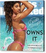 Danielle Herrington Swimsuit 2018 Sports Illustrated Cover Acrylic Print