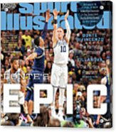 Dantes Epic Donte Divincenzo, The Perfect Performance Sports Illustrated Cover Acrylic Print