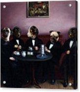 Dapper Dogs Acrylic Print