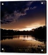 Dark Reflections  Acrylic Print