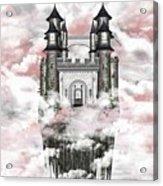 Dark Romantic Castle Acrylic Print