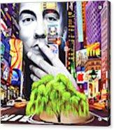 Dave Matthews Dreaming Tree Acrylic Print