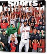 David Ortiz, Designated Editor Before He Retires Big Papi Sports Illustrated Cover Acrylic Print