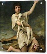 David The Shepherd Acrylic Print