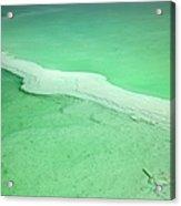 Dead Sea Water Surface Acrylic Print