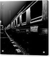 Death Railway Acrylic Print