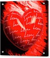 Decorated Romance Acrylic Print