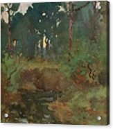 Decorative Landscape Study, C.1903 Acrylic Print