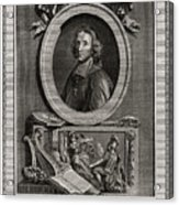 Delamothe Fenelon, 1777. Artist T Cook Acrylic Print