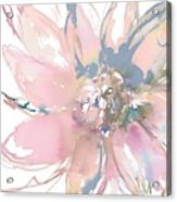 Delicate Flower Burst    Acrylic Print