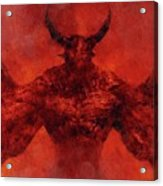 Demon Lord Acrylic Print