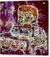 Dean Winchester Car Supernatural Pop  Acrylic Print