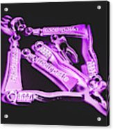Dentistry Design Acrylic Print