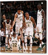 Denver Nuggets V Milwaukee Bucks Acrylic Print