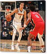 Denver Nuggets V New Orleans Pelicans Acrylic Print