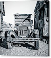 Depression Era Dust Bowl Car Acrylic Print