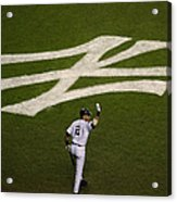 Derek Jeter Walks To The Plate Acrylic Print