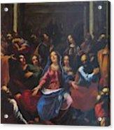 Descente Du Saint Esprit 1635 Acrylic Print