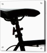 Detail Of A Bicycle Seat, Back Lit Acrylic Print