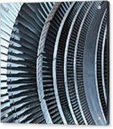 Detail Of Turbine Acrylic Print