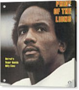 Detroit Lions Billy Sims Sports Illustrated Cover Acrylic Print