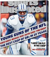 Detroit Lions Qb Joey Harrington... Sports Illustrated Cover Acrylic Print