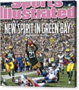 Detroit Lions V Green Bay Packers Sports Illustrated Cover Acrylic Print