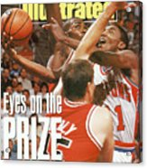 Detroit Pistons Isiah Thomas, 1990 Nba Eastern Conference Sports Illustrated Cover Acrylic Print
