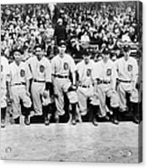 Detroit Tigers 1935 Pitching Staff At Acrylic Print