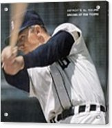Detroit Tigers Al Kaline Sports Illustrated Cover Acrylic Print