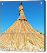 The Desert Of The Royal Bardenas Acrylic Print
