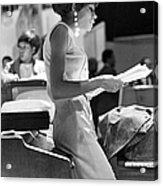 Diana Ross On Hullabaloo Acrylic Print