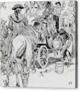 Dick Turpin, Rookwood Acrylic Print