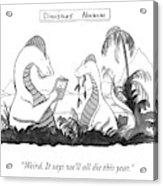 Dinosaur's Almanac Acrylic Print