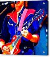 Dire Straits Mark Knopfler Acrylic Print