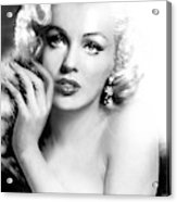 Diva Mm Bw Acrylic Print