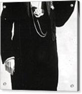 Doctor Mary Walker In Tuxedo Acrylic Print