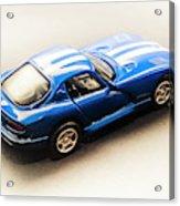 Dodge Viper Gts Acrylic Print