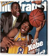 Does Kobe Have The Magic Sports Illustrated Cover Acrylic Print