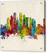 Doha Qatar Skyline Acrylic Print
