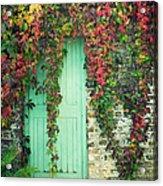 Door To The Secret Garden Acrylic Print