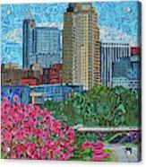 Downtown Raleigh Acrylic Print