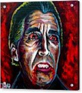 Dracula Lee  Acrylic Print