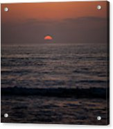 Dreamcicle Sunset Acrylic Print