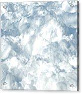 Drifted Snow Acrylic Print