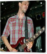 Drive By Truckers Guitarist Mike Cooley Acrylic Print